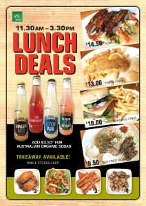 Lunch Deals - May 2021